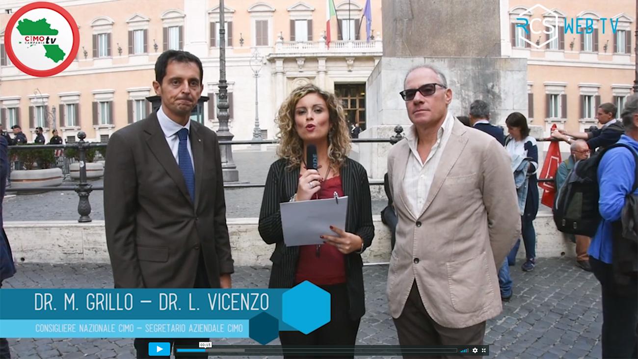 Verso lo sciopero del 9 novembre. Grillo e Vicenzo (CIMO) parlano ai giovani medici