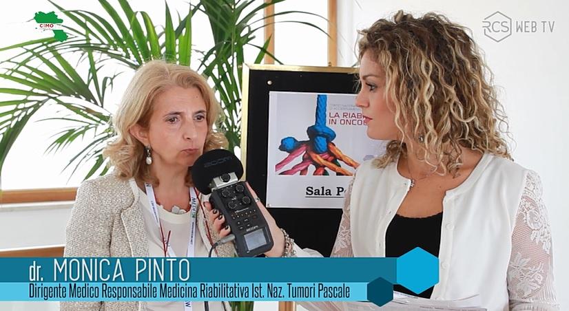 La riabilitazione in Oncologia: parla la Dott.ssa Monica Pinto