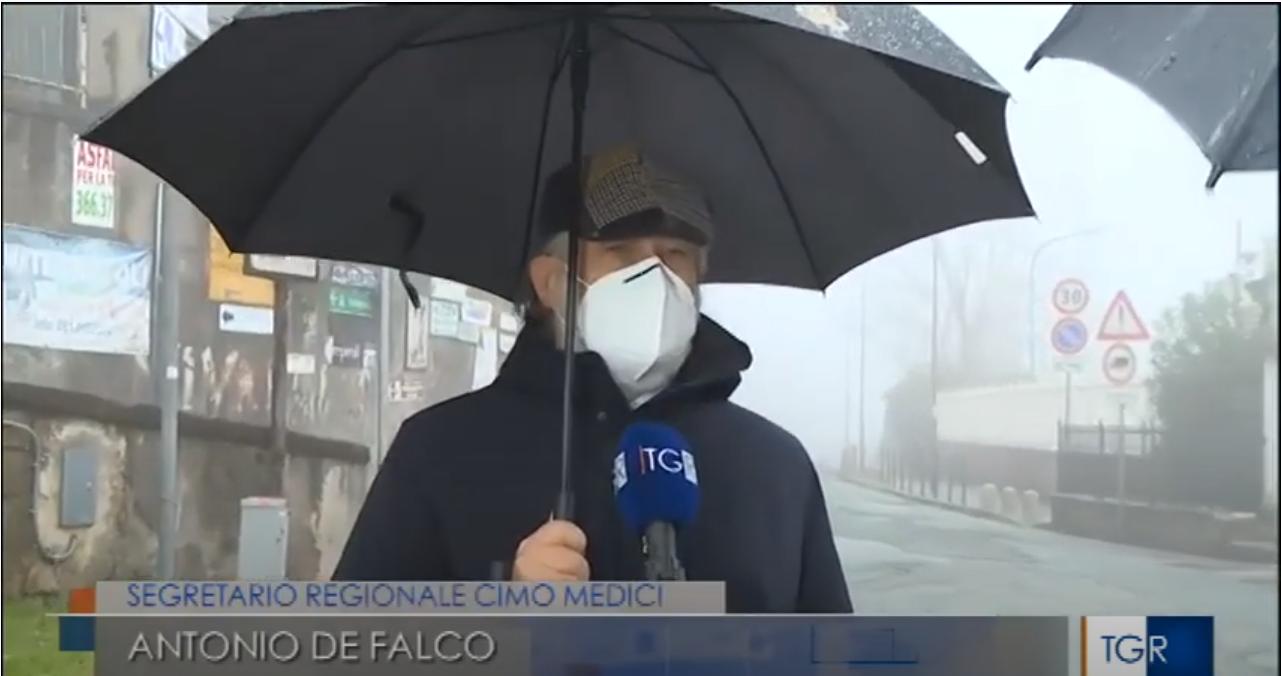 Antonio De Falco al TG3 Campania - Intervista di Vincenzo Perone 16 novembre ore 14.00-