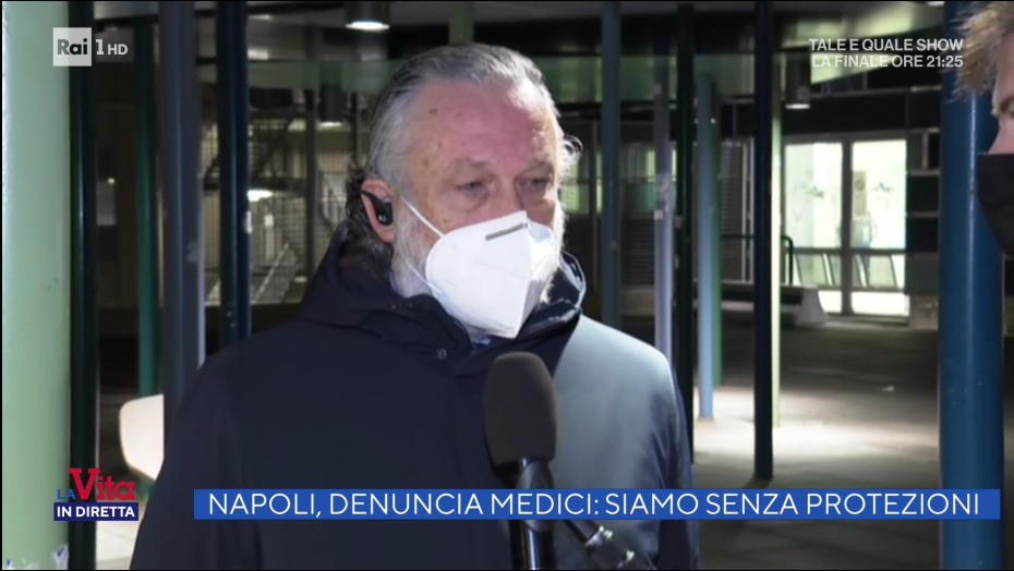 Antonio De Falco a La vita in diretta